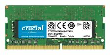 MEMORIA RAM 4GB SODIMM CRUCIAL SO-DDR4 4 GB PC2400 CT4G4SFS824A PER NOTEBOOK