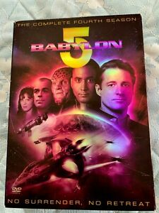 Babylon 5 The Complete Fourth Season Boxed Set 6 DVD's