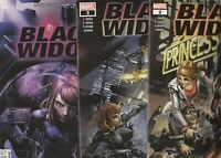 BLACK WIDOW 3 COMICS  FPLUS TO NM     🔥🔥🔥🔥🔥🔥🔥🔥🔥🔥🔥🔥