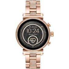 Michael Kors Access Slim Sofie Rose Gold Smart Touchscreen Watch MKT5066