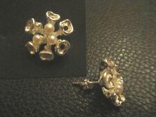 Maritime echte Perlen-Ohrschmuck im Ohrstecker-Stil