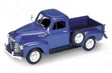 Chevrolet 3100 Pick up 1953 - Blue  1/24 scale Welly Model Car New and Sealed