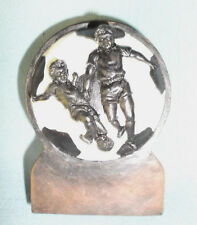 Glentons mini statue soccer ball resin award trophy RF1036