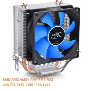 DEEPCOOL ICE EDGE MINI FS V2.0 2 Heatpipes CPU Cooler 80mm for CPU Cooling Fan
