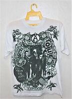 VINTAGE 80's THE CLASH PUNK ROCK TOUR CONCERT PROMO T-SHIRT DAMNED SEX PISTOLS