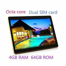 TYD 10.1 inch Tablet Android 6.0 GPS Octa Core 2560X1600 IPS Bluetooth RAM 4G