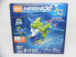 Mega Construx Magnext 3-in-1 Mag-Racers Construction Set with Magnets, Magnetic