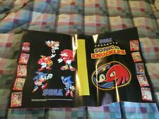Sonic & Knuckles Sega Genesis Club Video Game Book Cover Poster 1994 Promo Gear