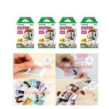 8 Packs Fujifilm instax Mini Film,80 Fuji instant photos Mini 9 8 7s 90 25 55i