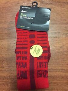 Nike Elite Women's Cushioned Basketball Crew Socks Small