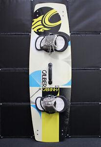 2012 Cabrinha Caliber 136cm Freestyle Kiteboard w/ Medium Footstrap Bindings