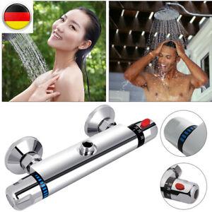 Dusch Armatur Brausethermostat Bad Duschthermostat Messing Dusche Mischbatterie