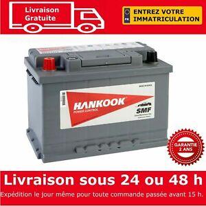 Hankook 57413 Batterie de Démarrage Pour Voiture 12V 74Ah - 277 x 174 x 190mm