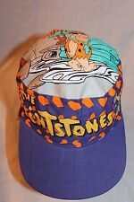 NEW WITH TAG 1994 THE FLINTSTONES HANNA BARBERA  PURPLE PAINTERS CAP