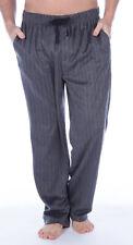 Mens Fleece Lounge Pants Pyjama Bottoms Herringbone Trousers Night Wear M-XXL
