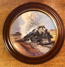 """Hamilton Train Plate Collection """"Big Boy"""" Limited Plate Nr. 1661A"""
