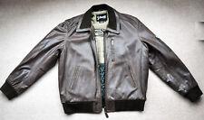 Schott Brown Leather Jacket XL