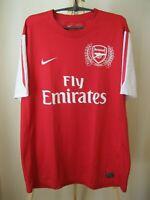5+/5 Arsenal London 2011/2012 Home Size XL Nike football shirt soccer jersey
