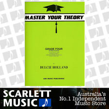 Master Your Theory - Grade 4 / Four Revised Edition - Dulcie Holland *NEW*