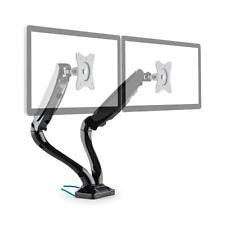 DOPPEL LED LCD PC MONITOR DISPLAY SCHWENKARM HALTERUNG TISCHHALTERUNG USB 3.0