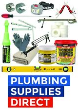 Professional Plumbing Tool Kit - Complete Tool set - Ideal Apprentice / Starter