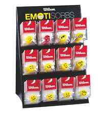 Wilson Emotisorb Fun Faces String Dampener - 72 Display Stand