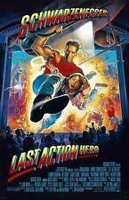 "Last Action Hero movie poster 11"" x 17"" - Arnold Schwarzenegger"