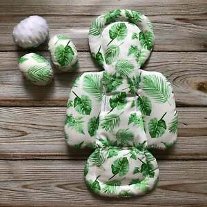 Tropical Green Leaves Set Newborn Insert and Balls for mamaRoo 4moms Infant Seat