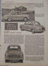 1955 Morris Cowley Autocar magazine Road test