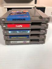 5 Nintendo NES Shooter Lot Cartridges Games Vintage -tested