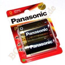 1 x LR20PPG 2BP Alkaline Pro Power Battery LR20PPG/2BP Panasonic  1pcs