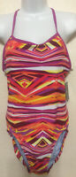 NWT WOM NIKE MULTICOLOR RIO GEO MODERN LINGERIE BATHING SWIMSUIT SELECT SIZE $68