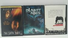 3 Dvd Movies Planet Of The Apes / Dog Day Afternoon / The Sixth Sense Lot Of 3