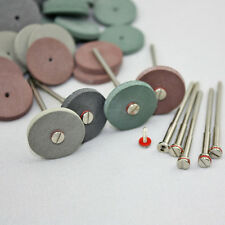 10pcs Shank Mandrel Rotary Tool & 40pcs Rubber Polishing Wheels Dental Jewelry
