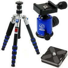 HORUSBENNU M-2531T D-SLR Traveler Camera Tripod + Ball Head LX-28T Blue w/ Case