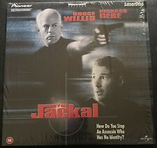 The Jackal (1997)-Laser Disc-PAL-Widescreen-Bruce Willis-Richard Gere