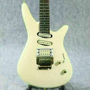 YAMAHA MG-KII White 1990s Used Made in Japan Rosewood Fingerboard w/Soft Case
