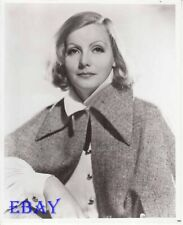 Greta Garbo wears a cloak RARE Photo