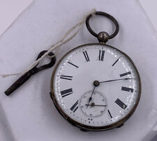 Cylindre Key Wind Pocket Watch New listing Antique Silver Gold Filled