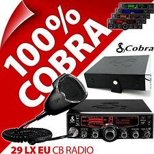 COBRA 29 LX EU/UK Radio CB 40 Canali AM FM standard europeo LCD standard Multi