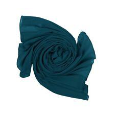 Light Glitter Long Large Silk Feel Plain PASHMINA SCARF Stole Shawl Wrap HIJAB