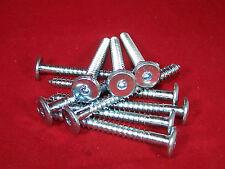 10 RAMPA Holzschrauben Typ HFK Flachkopf mit Innensechskant 6,3 x 110 mm