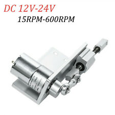 Diy Design Electric Small Reciprocating Cycle Linear Actuator With Dc Gear Motor