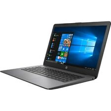 HP Stream 14  Laptop AMD A4 4GB RAM 64GB eMMc Brilliant Black - AMD A4-9120e Dua