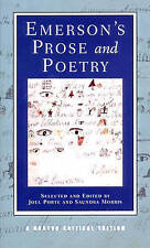 Emerson's Prose and Poetry (Norton Critical Editions)-ExLibrary