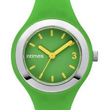 Women's Sport Plastic Case Round Wristwatches