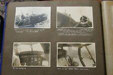 DVD OF WW2 PHOTO ALBUM RAF RADAR STATIONS WELLINGTON BOMBER  BLENHEIM BOMBER