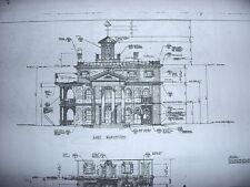 "Disneyland ""Haunted Mansion"" Blueprints (4) sheets"