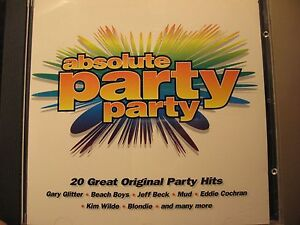 ABSOLUTE PARTY PARTY CD  ::  20 GREAT ORIGINAL PARTY HITS  (Superb Cond.)