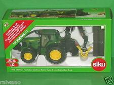 1:32 Siku Farmer 4063 John Deere 7530 Forsttraktor mit Überrollbügel